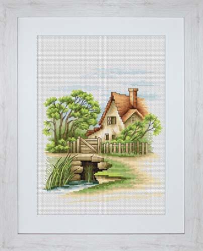 Summer Landscape Cross Stitch Kit By Luca S