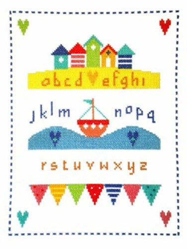 By The Sea Sampler Cross Stitch Kit