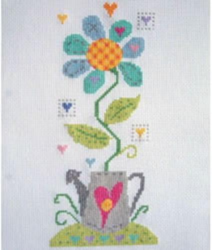 Crazy Daisy Cross Stitch Kit