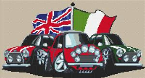 Old Style Mini Italian Job Cross Stitch Chart