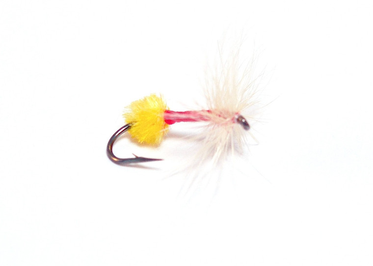 Timber Wolf: yellow-red-white