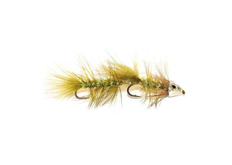 Articulated MH Bugger - Olive Crystal