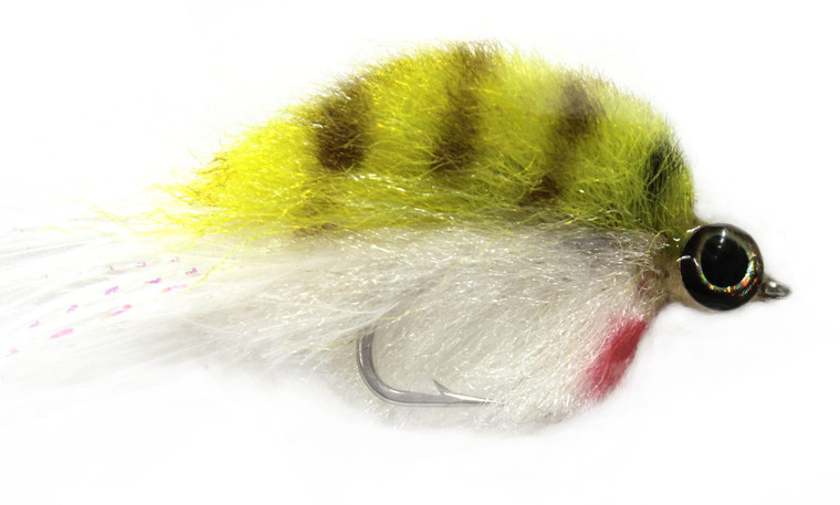 Baitfish- Chartreuse White