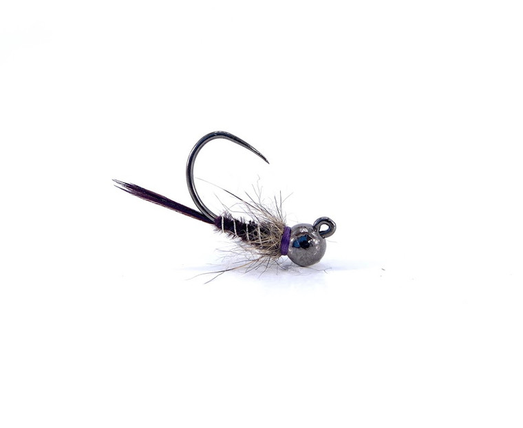 Tied with a tungsten bead, this euro style pattern comes in sizes 10 & 12.