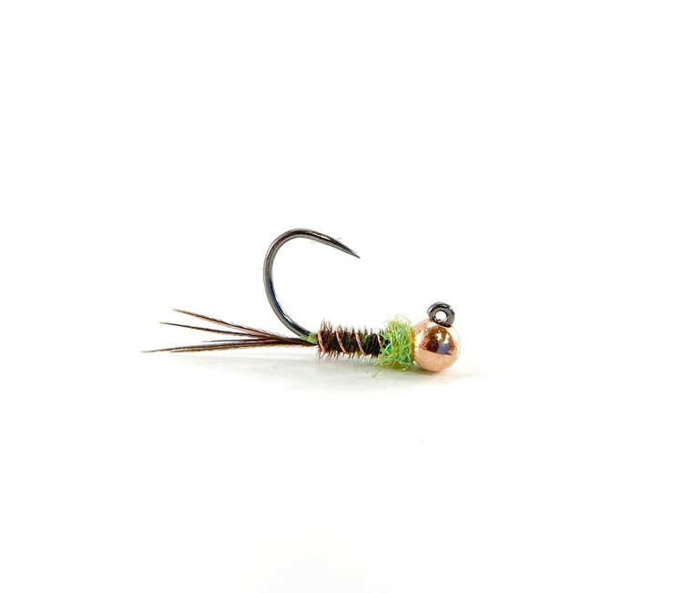 Hot Spot Pheasant Tail- Chartreuse