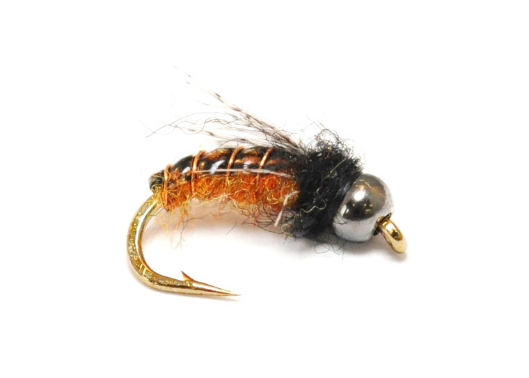 Caddis - Bead Rusty