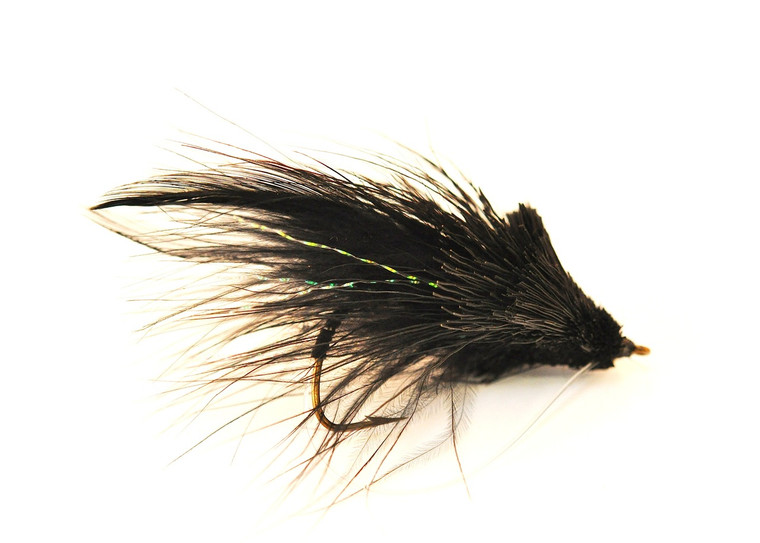 Deer Hair Diver - Black