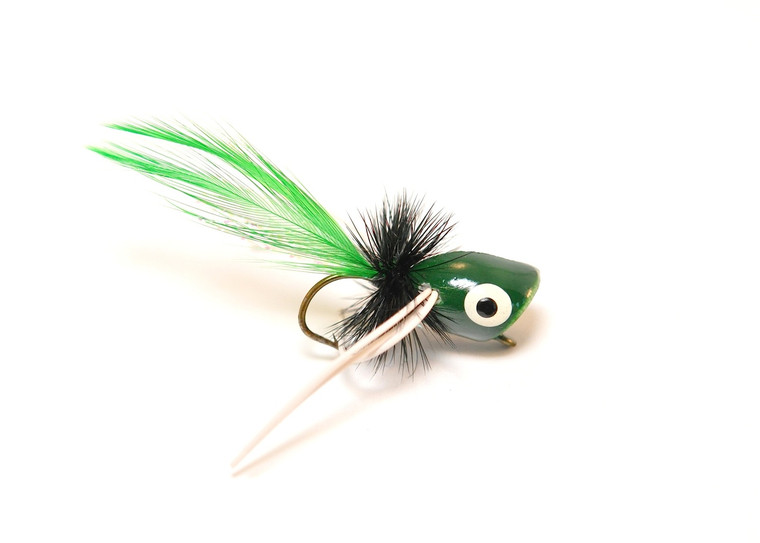 Bass Popper - Green