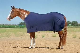 6 oz. Lycra horse sheet, 4-way stretch Lycra sheet