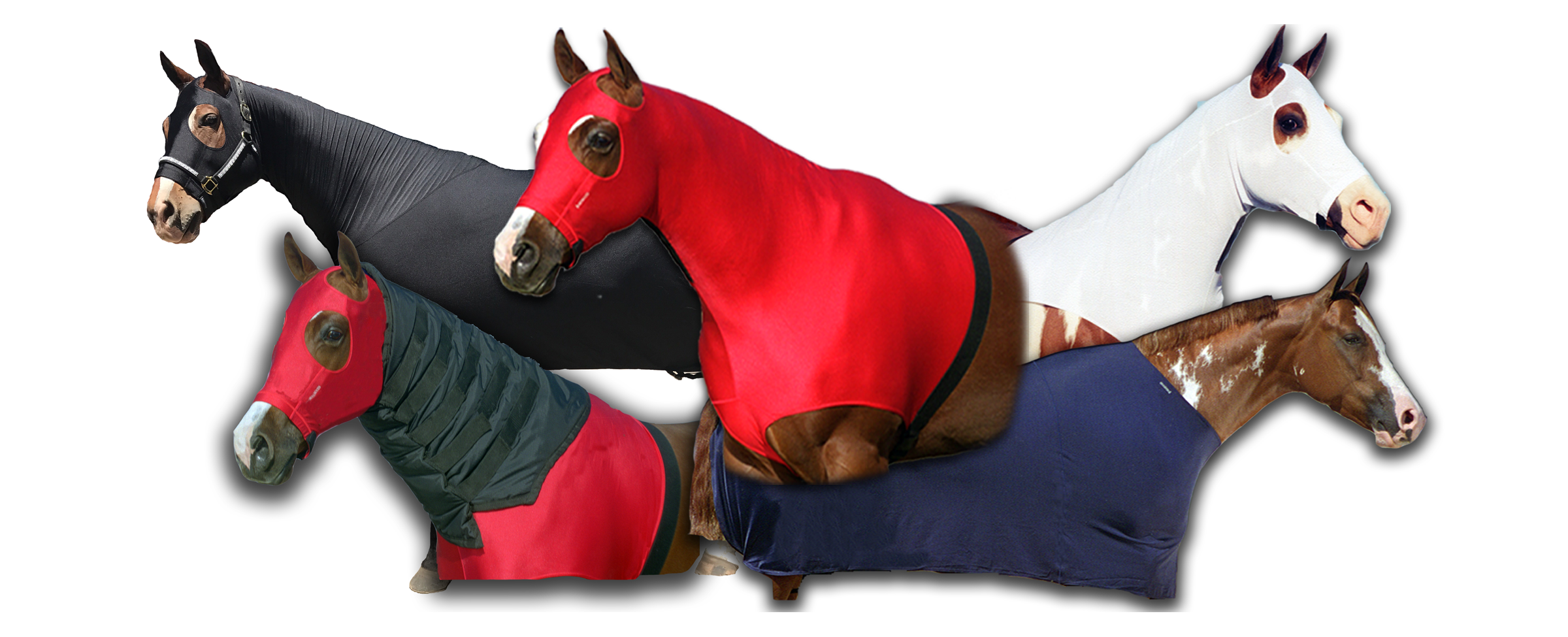 Robinhoods Full Body Cover, Lycra Stretch Horse Hoods