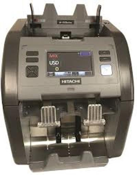 Hitachi iH-110  2-Pocket Currency Discriminator / Mixed Money Counter