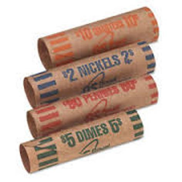 Gunshell Coin Wrappers - One Denomination