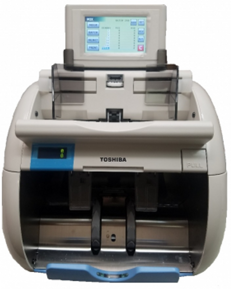 Toshiba IBS-210 2 Pocket Currency Discriminator / Mixed Money Counter