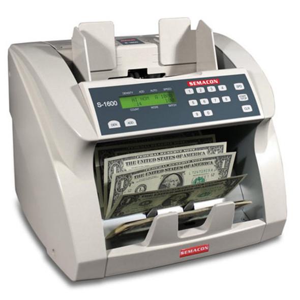 Semacon S-1600 Premium Bank Grade Currency Counter