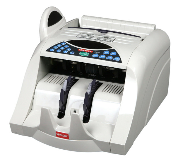 Semacon S-1125 Heavy Duty Currency Counter (UV, MG, CF)