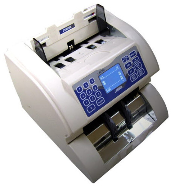 Hitachi iH-100 1-Pocket Currency Discriminator / Mixed Money Counter