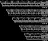 "JL Billet AR15 7.3"" Angle Cut M-Lok Handguard"