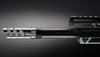 5.56 Muzzle Brake, Titanium VPR, 1/2-28, Raw Titanium