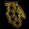 Forward Fist M-Lok Grip Gold