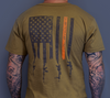 JL Billet Tan Flag T Shirt