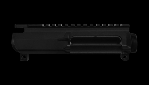 AR15 Billet Upper Receiver, Smooth Side