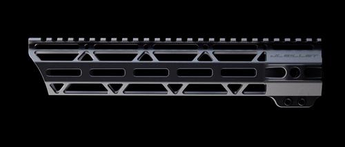 JL Billet .308 10.6 Angle Cut M-Lok Handguard Anodize