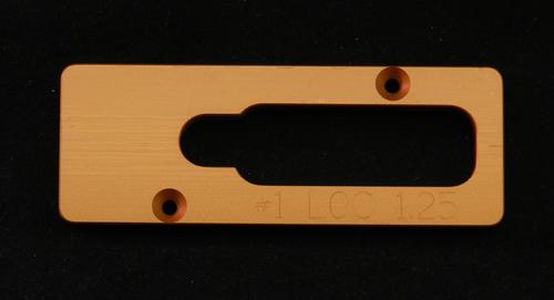 #1 Jig Guide Plate/AR15 & .308