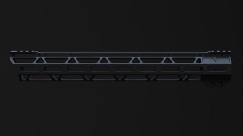 "JL Billet 15"" 308 Low Profile Ultra-Lite Angled M-Lok Free-Float Handguard"