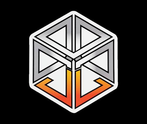 JL Logo Sticker - Clear
