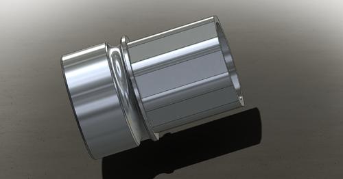 "JL Billet 5.56 Barrel Nut 1.375"" OD  (Adams Arms Compatible)"