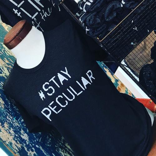 #Stay Peculiar Tee