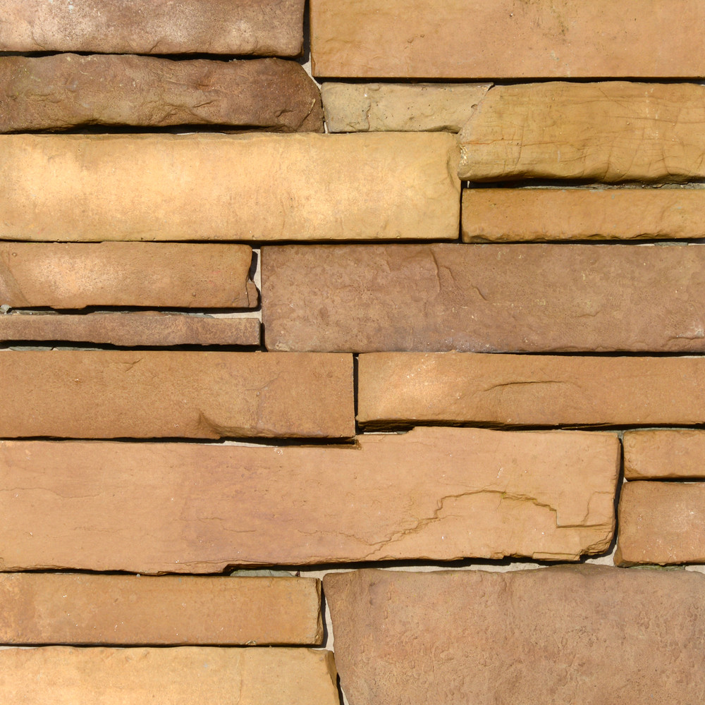 Picture of a Ledgestone Stone Veneer in the Cascade color palette by Superior Stone (Washington based).