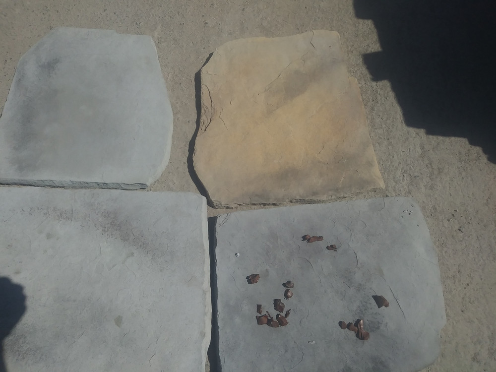 Flag stone 2.5 sqft per stone