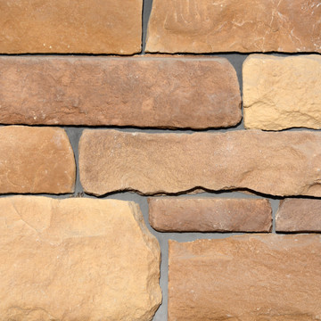 Picture of a Limestone Stone Siding in the Cascade color palette by Superior Stone (Washington based).