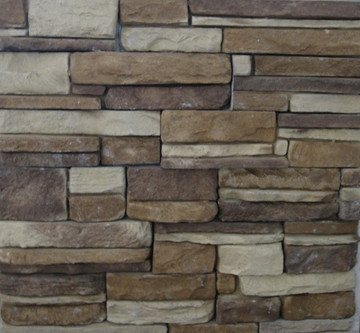"""Quick-Fit. This panelized product is easy to install.  The pieces are 4"""" tall by up to 20"""" long. Just stack one on top of the other. If you like the style but want different colors we can do that also."""