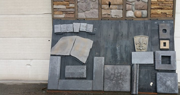 Lots of accessory items.  Wall caps, column caps, electrical covers, trim pieces, and many more.