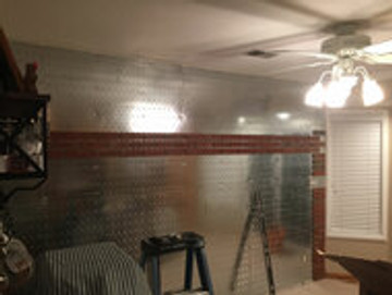 Brick Fast panels make the job so easy.  4x4 just put the brick onto the slots and you have perfect spacing and are level