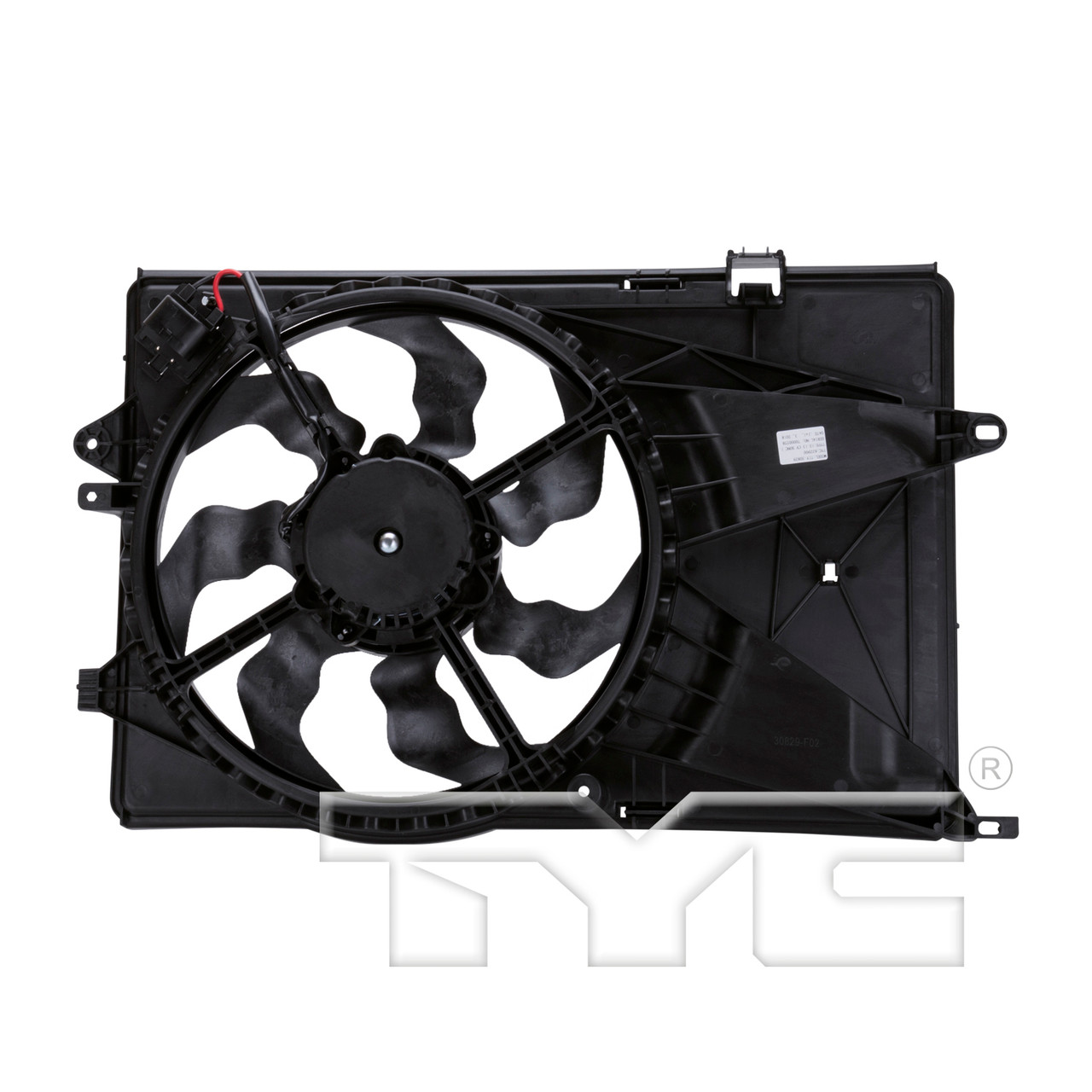 Cooling Fan Assembly For 2012 2013 2014 2015 2016 2017 2018 Chevrolet Sonic