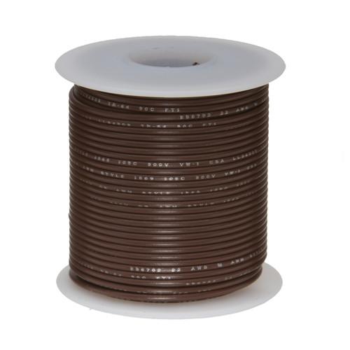 16 Gauge Tinned Marine Primary Wire 100 Foot Reel Black