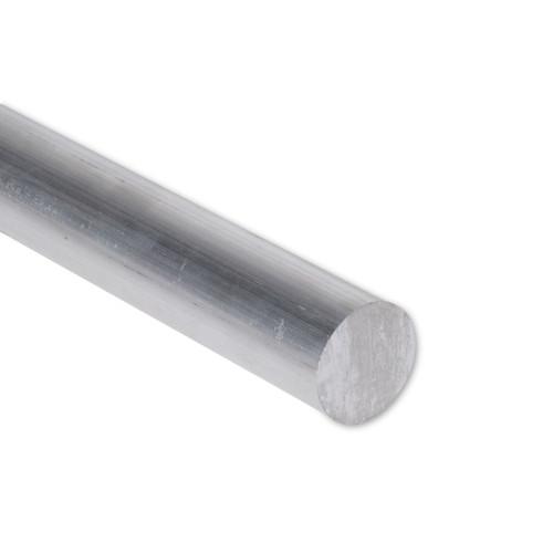 """Aluminum Round Rod, 1-1/4"""" Diameter, 6061 General-Purpose, T6511, 1.25RD6061T6511"""