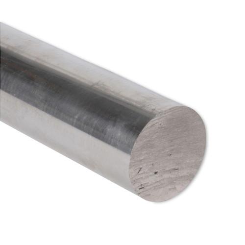 """Aluminum Round Rod, 2"""" Diameter, 6061 General-Purpose, T6511, 2.0RD6061T6511"""