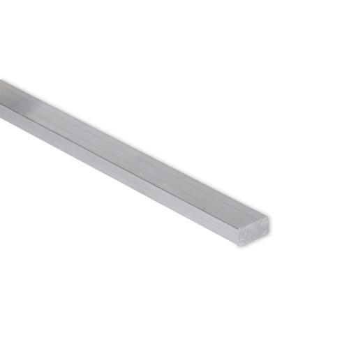 """Aluminum Flat Bar, 1/4"""" x 1/2"""" , 6061 General-Purpose Plate, T6511 Mill Stock (0.25X0.5FLT6061T6511)"""