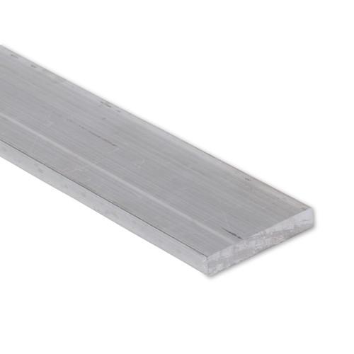 """Aluminum Flat Bar, 1/4"""" x 2"""" , 6061 General-Purpose Plate, T6511 Mill Stock (0.25X2.0FLT6061T6511)"""