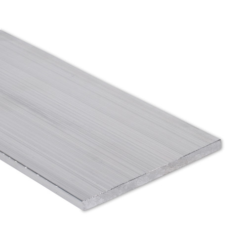 """Aluminum Flat Bar, 1/4"""" x 4"""", 6061 General-Purpose Plate, T6511 Mill Stock, 10 Lengths Available"""