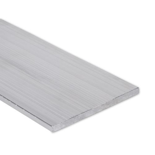 """Aluminum Flat Bar, 1/4"""" x 4"""", 6061 General-Purpose Plate, T6511 Mill Stock (0.25X4.0FLT6061T6511)"""