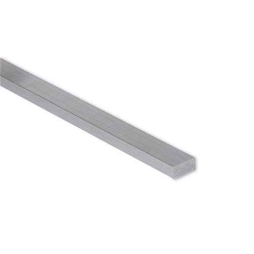 """Aluminum Flat Bar, 3/8"""" x 1/2"""" , 6061 General-Purpose Plate, T6511 Mill Stock (0.375X0.5FLT6061T6511)"""
