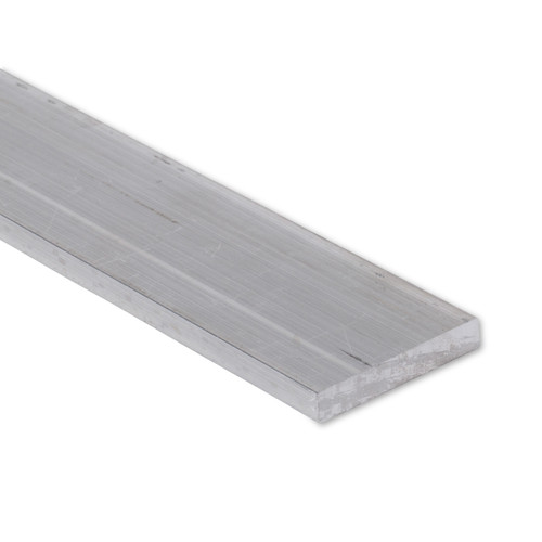 """Aluminum Flat Bar, 1/2"""" x 2-1/2"""", 6061 General Purpose Plate, T6511 Mill Stock (0.5X2.5FLT6061T6511)"""