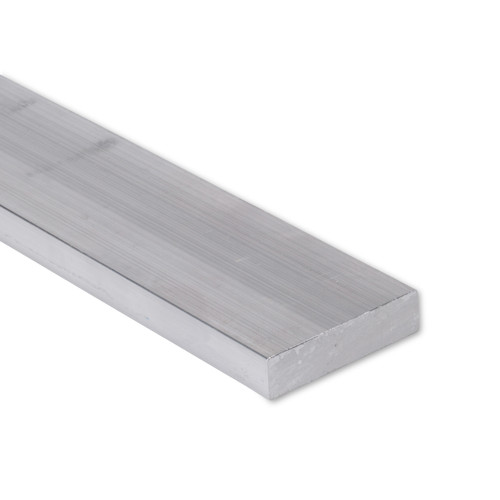 """Aluminum Flat Bar, 3/4"""" x 2-1/2"""" , 6061 General-Purpose Plate, T6511 Mill Stock (0.75X2.5FLT6061T6511)"""