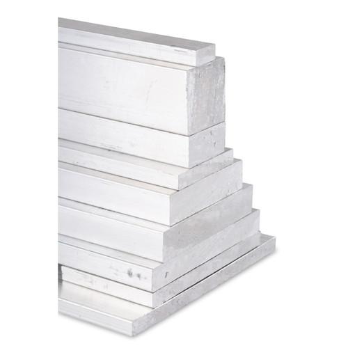 """1/"""" x 2.5/"""" 6061 Aluminum Bar Stock Cut to length per 1/"""" CNC Stock"""