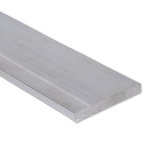 """Aluminum Flat Bar, 1"""" x 4"""" , 6061 General-Purpose Plate, T6511 Mill Stock (1.0X4.0FLT6061T6511)"""